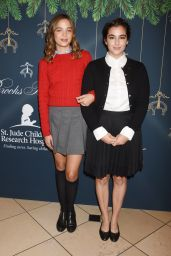 Alanna Masterson At Brooks Brothers holiday celebration with St Jude Children