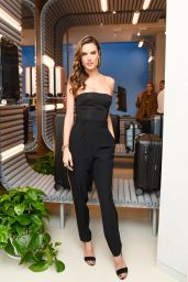 Alessandra Ambrosio At Rimowa x Alexandre Arnault Pop-Up event in Los Angeles