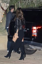 Alessandra Ambrosio Has dinner with a friend in LA