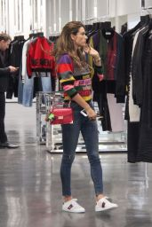 Alessandra Ambrosio Out for shopping in Beverly Hills