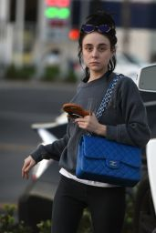 Alessandra Torresani Goes shopping at trader joes in LA