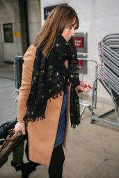 Alex Jones Arriving at the TV Studios - London
