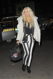 Alexa Knox Seen at the Les Girls Les Boys launch party in London