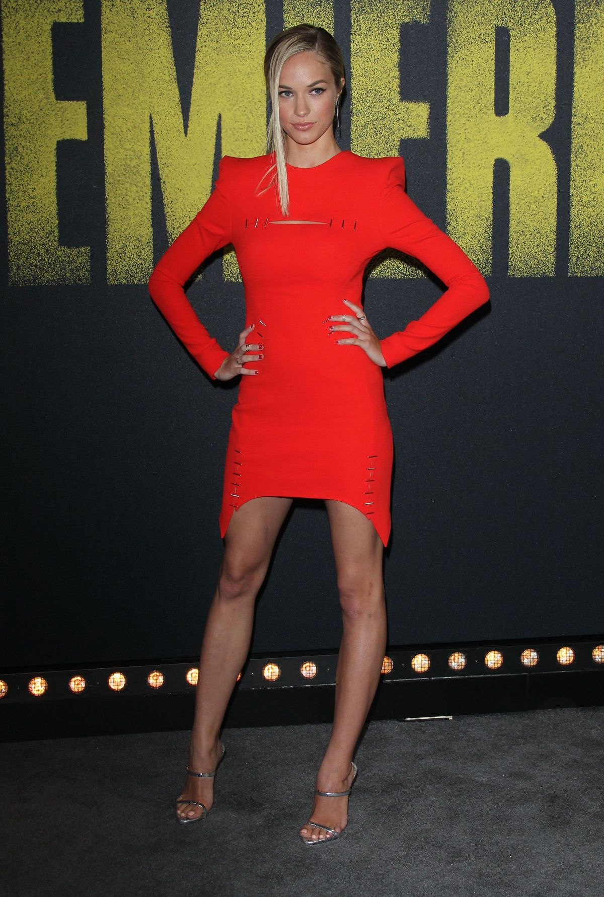 Alexis Knapp At Pitch Perfect 3 Premiere In LA
