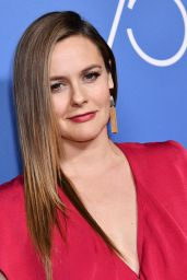 Alicia Silverstone At Golden Globes 75th Anniversary Special Screening and HFPA Holiday Reception in Los Angeles
