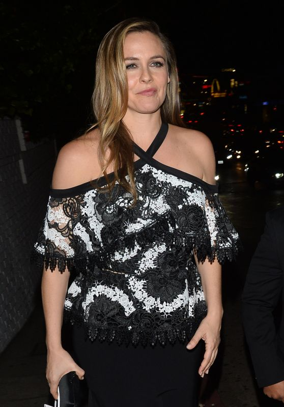 Alicia Silverstone Leaves a Christian Siriano Book Party at Bar Marmont