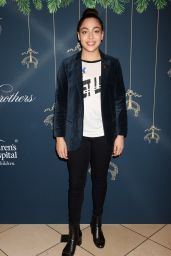 Allegra Acosta At Brooks Brothers and St. Jude Annual Holiday Party held at the Brooks Brothers Rodeo Drive Store