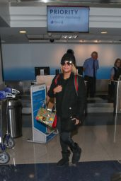 Ally Brooke Seen at LAX Aiport in Los Angeles
