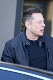 Amber Heard & Elon Musk Leaving the restaurant HomeState for lunch in Los Feliz