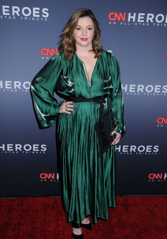 Amber Tamblyn At 11th Annual CNN Heroes An All-Star Tribute, New York
