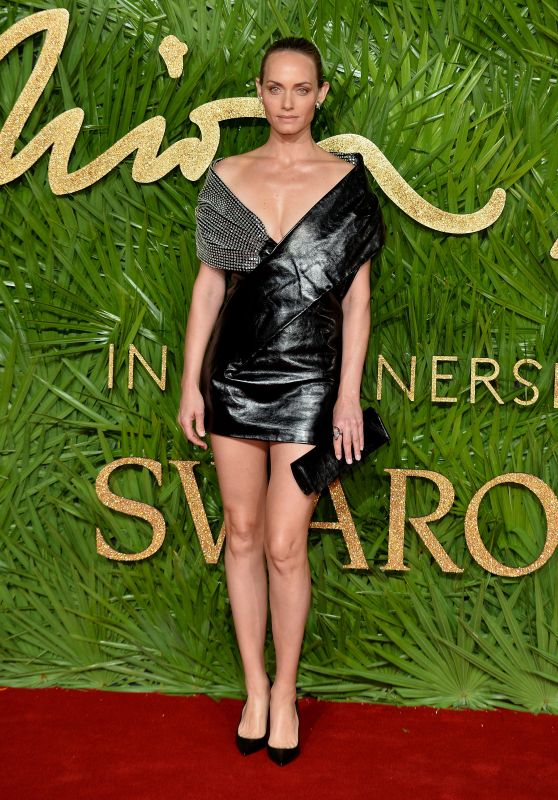 Amber Valletta At The British Fashion Awards 2017 in Partnership With Swarovski held at the Royal Albert Hall in London