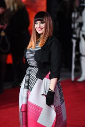 Ana Matronic Attends the European Premiere of Star Wars The Last Jedi at the Royal Albert Hall