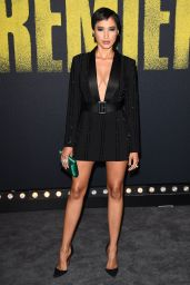 Andy Allo At Pitch Perfect 3 film premiere, Los Angeles