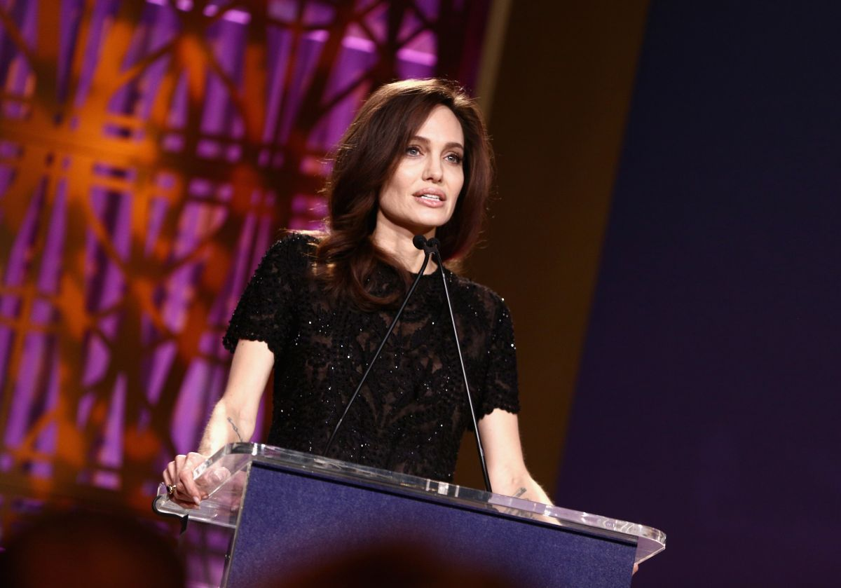Angelina Jolie At The Hollywood Reporter's 2017 Women In ...