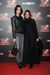 Anna Safroncik At Red Carpet for the final stage of The Italian X-Factor in Milan