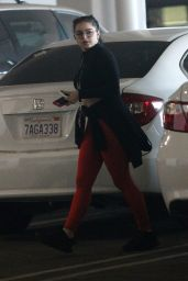 Ariel Winter Pumps gas before heading to do some shopping at Nordstrom in LA