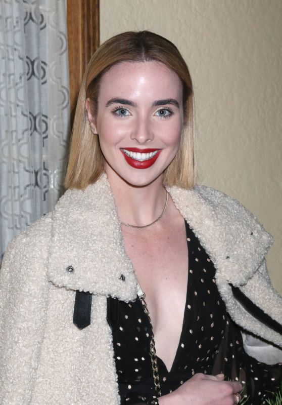Ashleigh Brewer At Heather Tom