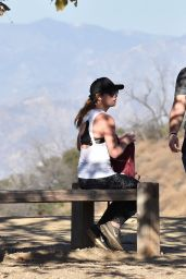 Ashley Greene Out for a hike with husband Paul Khoury in Los Angeles