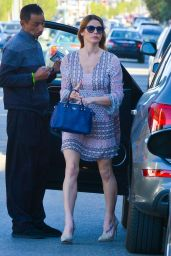 Ashley Greene Out for lunch At Kreation restaurant in Los Angeles