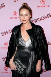 Becca Tobin At Refinery29 29Rooms Los Angeles: Turn It Into Art Opening Night Party at ROW DTLA