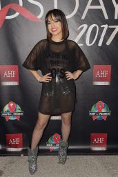 Becky G At AHF World AIDS Day Concert in Miami
