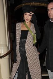 Bella Hadid Steps out in London
