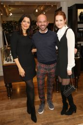 Bellamy Young At Brooks Brothers holiday celebration with St Jude Children