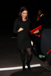 Bellamy Young Heads to a house party in Los Angeles