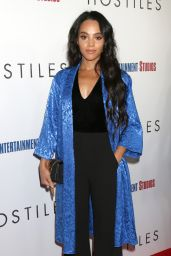 Bianca Lawson At The Los Angeles Premiere of Hostiles, at Samuel Goldwyn Theater