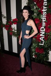 Britt Lower At LAND of Distraction Launch Event in Los Angeles