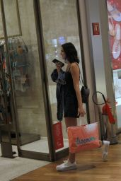 Bruna Marquezine Former girlfriend of PSG soccer star Neymar, was spotted doing some shopping in Rio de Janeiro