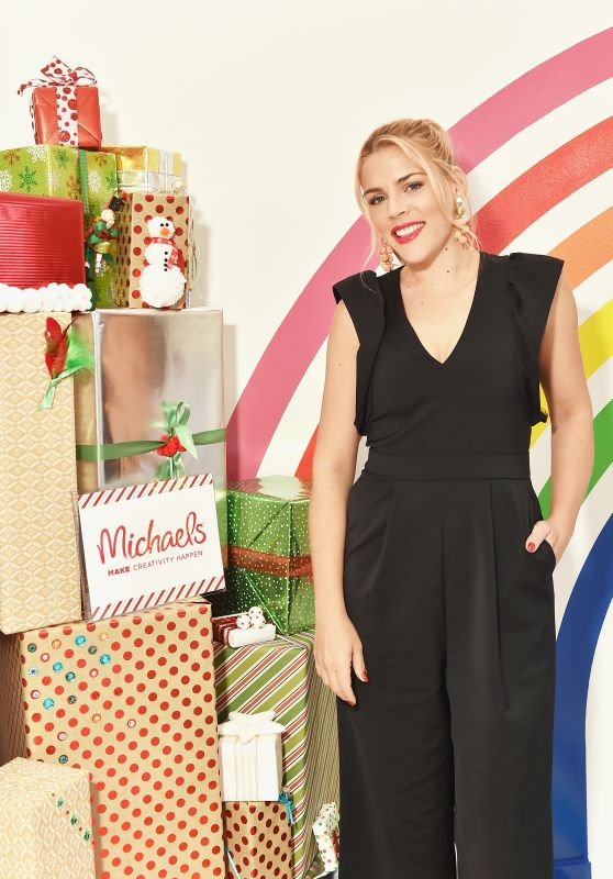 Busy Philipps and Michaels host a celebration of the season