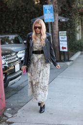 Busy Philipps Leaving Lucques Restaurant in Los Angeles
