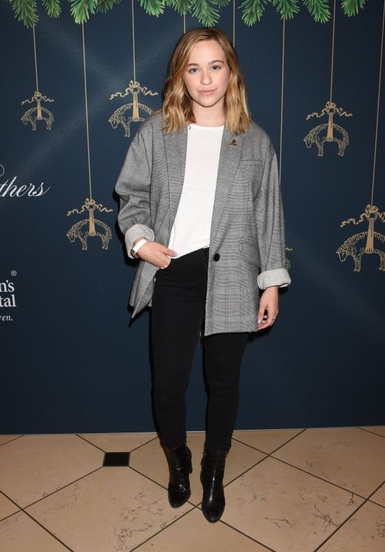 Cailee Rae At Brooks Brothers and St. Jude Annual Holiday Party held at the Brooks Brothers Rodeo Drive Store