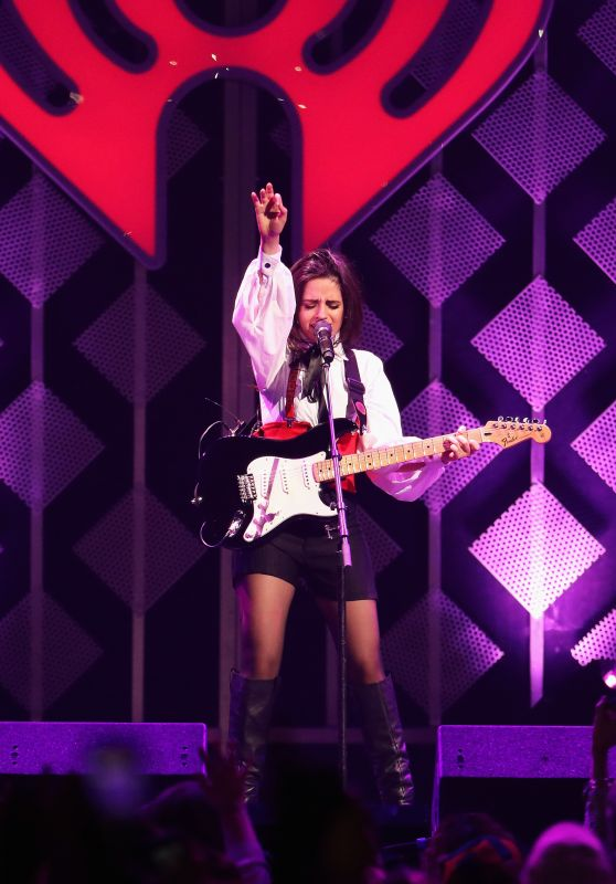 Camila Cabello Performs onstage during KISS 108