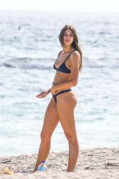 Celine Farach Shows off her curves in Miami