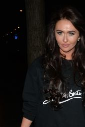 Charlotte Dawson Night out in Mayfair, London