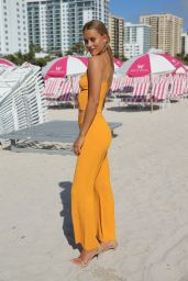 Chase Carter At Sports Illustrated Swimsuit Island at the W Hotel, Miami