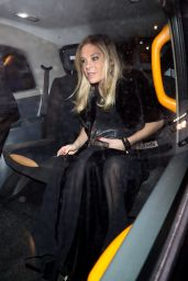 Chelsy Davy Seen at the BOVET 1822 Brilliant is Beautiful Gala in London