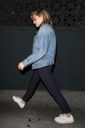 Chloe Grace Moretz Clubbing at Poppy in West Hollywood