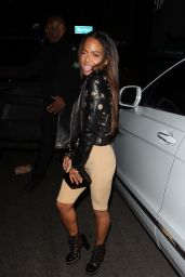 Christina Milian At night out in West Hollywood