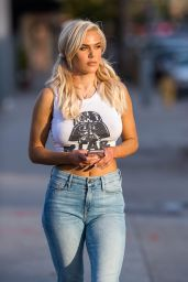 CJ Perry (Lana) Out and About in Los Angeles