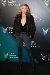 Claudia Black At The Game Awards 2017 at Microsoft Theater, Los Angeles