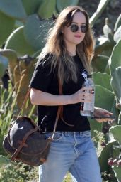 Dakota Johnson Out and about in Hollywood