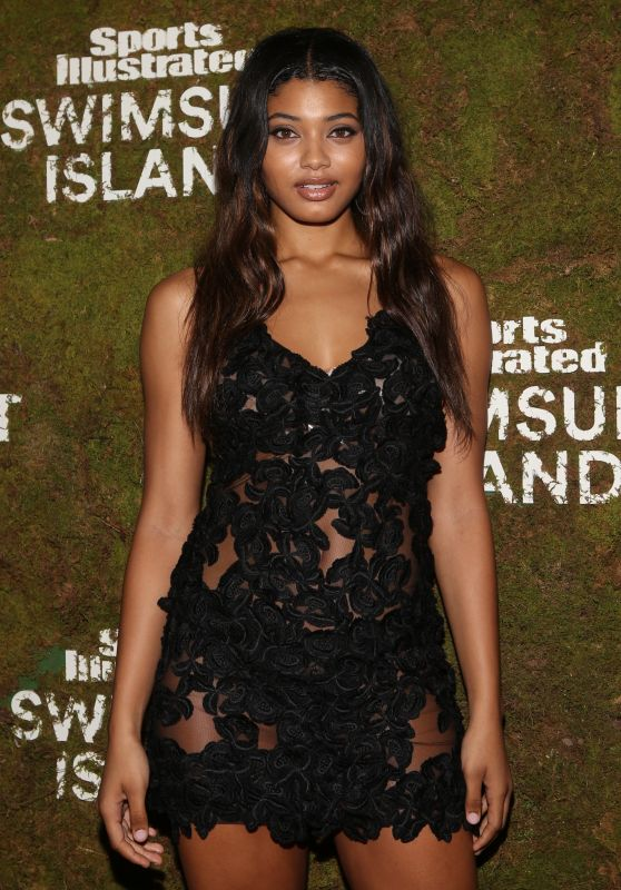 Danielle Herrington At Sports Illustrated Swimsuit Island at the W Hotel, Miami