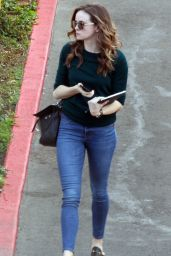 Danielle Panabaker Out and about in West Hollywood