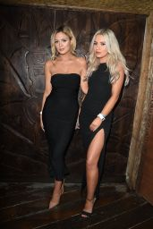 Danielle Sellers Attends The Influencer launch party at Mahiki Kensington in London, UK
