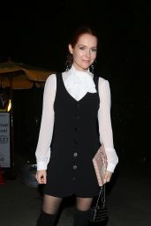 Darby Stanchfield Shows off her beautiful outfit as she heads to a house party in Los Angeles