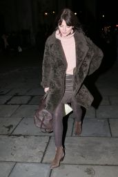 Davina McCall At public appearance St Martins in The Fields Festive concert, London
