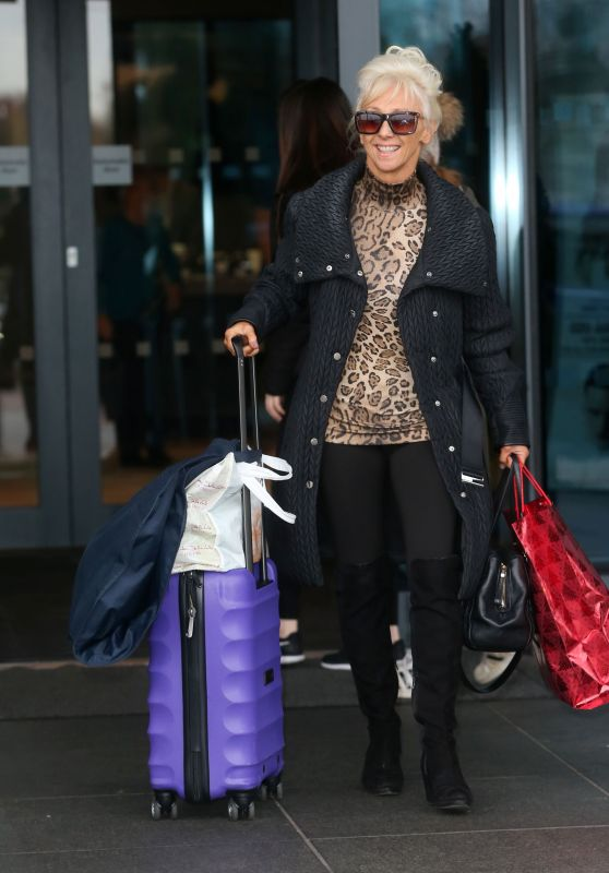 Debbie McGee Out in London